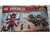 BNIB Lego Ninjago Cole's Earth Driller (70669)
