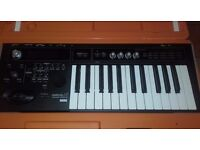 KORG MICRO X SYNTH,MINT,KORG CASE,MAINS,INSTRUCTIONS-TRITON SOUNDS