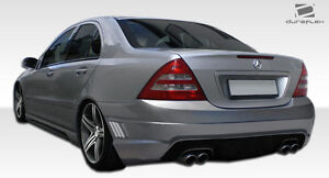 2001-2007 Mercedes Benz C-Class W203 Duraflex W-1 Rear Bumper Body Kit
