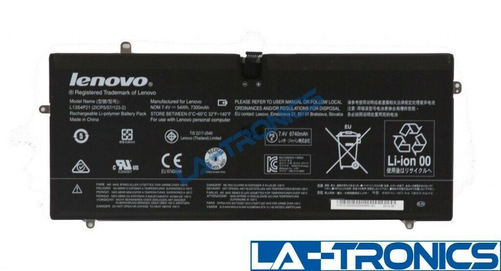 Genuine Lenovo Yoga 2 Pro 7.4V 54Wh 7300mAh Battery L13S4P21 11S121500225