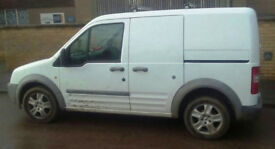 2007 FORD TRANSIT CONNECT 1.8ltr SWB TDCi ALLOYs Butchers Sandwich Van LINED INTERIOR New Clutch