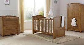 Stunning Silvercross Ashby Nursery Furniture For Sale