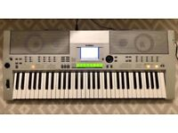 Yahama PSR-S500 Silver Electronic Keyboard USB Connection
