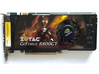 Zotac Geforce 8800GT Graphics Card (512mb, DDR3, PCI Express x16)