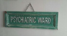 Hospital Ward Sign