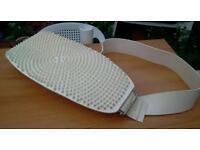 Lower back waist belt massager