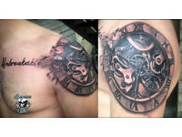 Tattoos from only £30!!! At SAGUSCA TATTOO