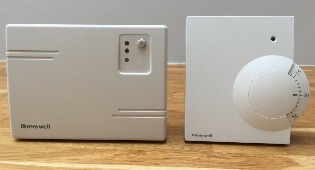 Honeywell Wireless Room Thermostat Receiver Box Plus Instructions