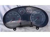 Audi S3 MK2 2004 To 2008 Dash Instrument Cluster Speedo Speedometer For Sale