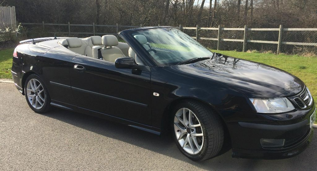 saab 9 3 2 0 t aero 2dr convertible 2005 sold on a. Black Bedroom Furniture Sets. Home Design Ideas