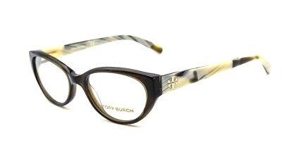 Tory Burch TY 2021 1078 Eyeglasses Glasses Dark Green & Olive Horn (Dark Eye Glasses)