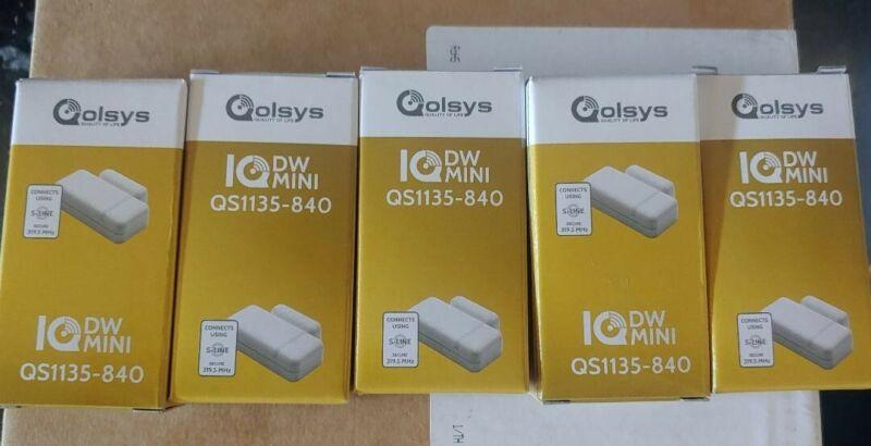 (5) Qolsys IQ DW QS1135-840 Door/Window Sensors