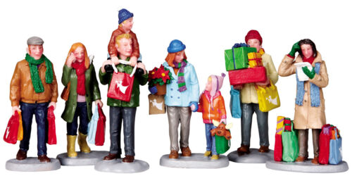 NEW Lemax Holiday Shoppers, Set Of 6 #92683