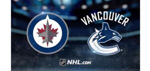 Jets vs. Canucks - 2 Tickets (Sec 203) - 10/18/18