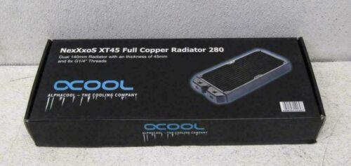 Alphacool NexXxoS XT45 Full Copper 280mm Radiator, 14169