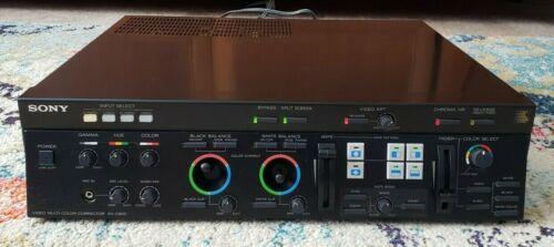 Sony XV-C900 Video Multi Color Corrector Super clean!