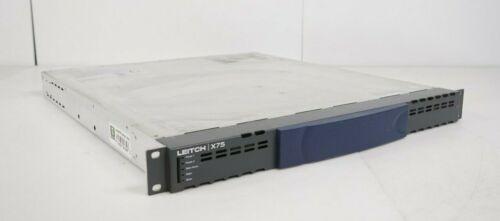 Leitch X75 X75HD/SD Audio Video Frame Sync Configuration