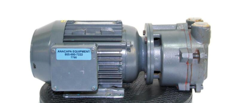 Nash Engineering EC-50M Pump 3HP 230/460V W/ Brook Crompton Motor (7790)W