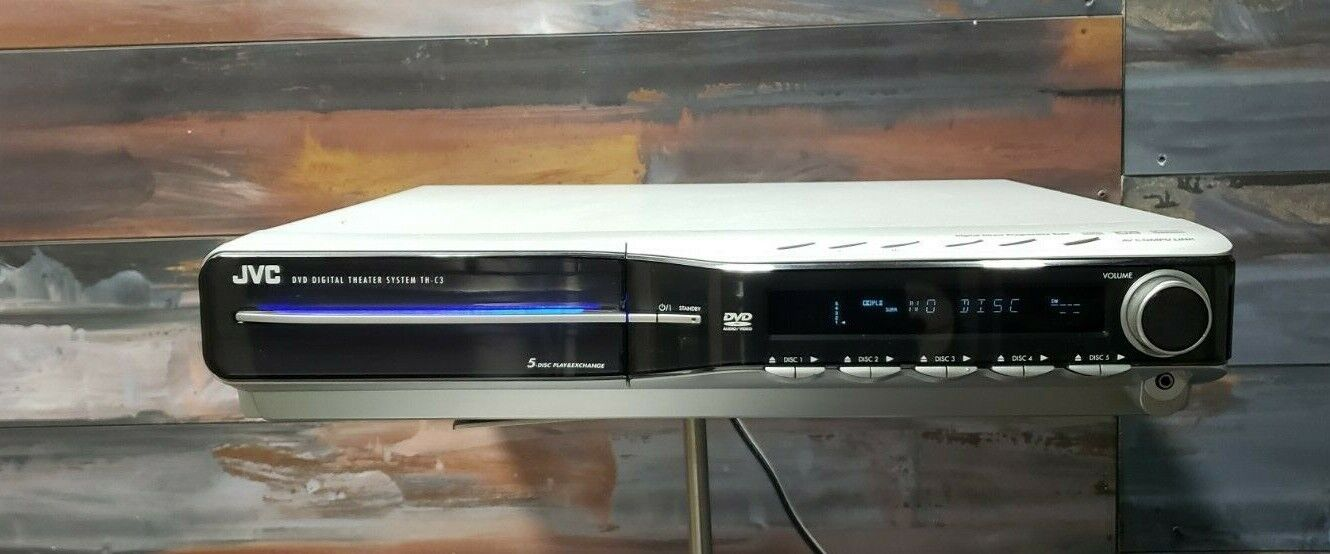 JVC TH-C3 5.1 Channel Home Theater 5.1 5 Disc DVD Changer FULLY REFURBISHED  - $95.98