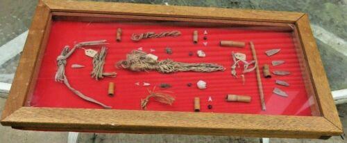 36 Anasazi Hohokam Frame 1000 A.D.  Native American Rock shelter Perishables
