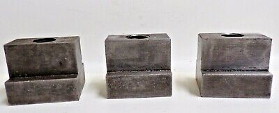 T-slot Table Nut 2 X 1 58 X 1 34 Lot Of 3