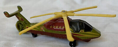 Military Helicopter Matchbox