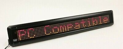 Pro-lite Programmable Color Electronic Sign Led Display With Remote