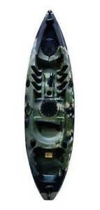 2.7m Rapid Camo Sea Kayak plus equipment
