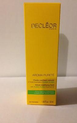 Decleor Aroma Purete Velvet Mattifying Fluid w/ Ylang oil 1.69oz (50ml)Brand New