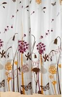 ☼ Curtain Bathroom ☼ 25$ New , never opened .    Polyester Print