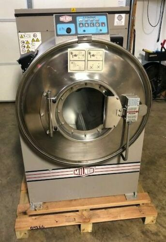 Used Milnor 30022T5E 60lb On-Premise Laundry Commercial Washer Extractor