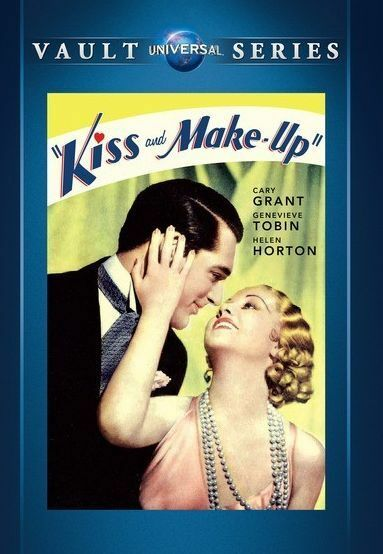 KISS AND MAKE UP  (1934 Cary Grant) - Region Free DVD - Sealed