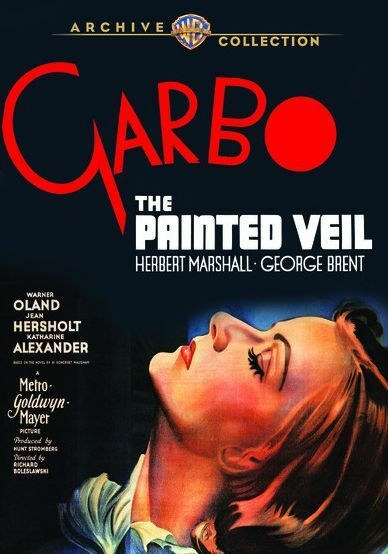 THE PAINTED VEIL  (1934 Greta Garbo) Region Free DVD - Sealed