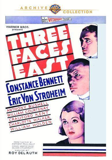 THREE FACES EAST - (1930 Constance Bennett) Region Free DVD - Sealed