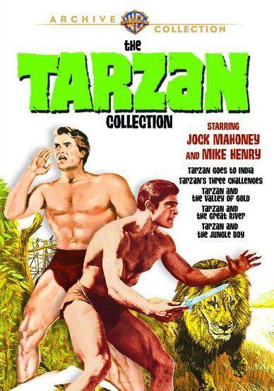 TARZAN STARRING JOCK MAHONEY & MIKE HENRY Region Free DVD - Sealed