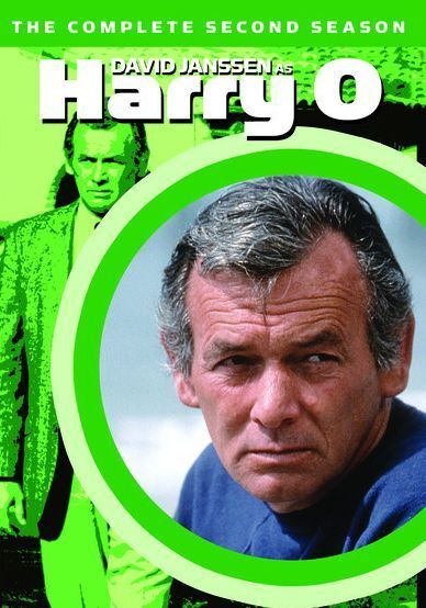HARRY O : THE COMPLETE SECOND SEASON 2 -  Region Free DVD - Sealed