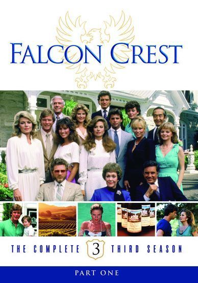 FALCON CREST: THE COMPLETE THIRD SEASON 3  -  Region Free DVD - Sealed