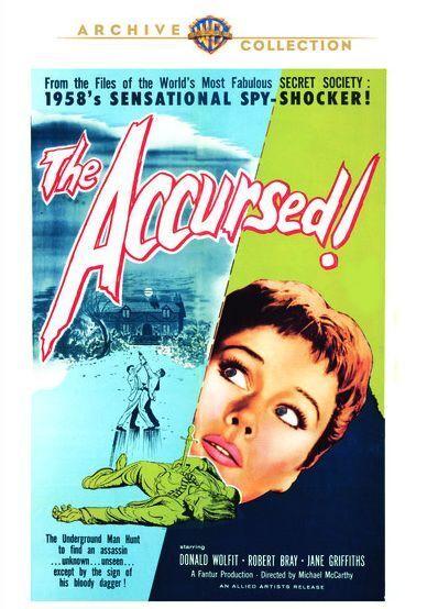 ACCURSED - (1958 Donald Wolfit) Region Free DVD - Sealed