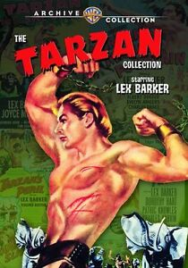TARZAN COLLECTION: Starring LEX BARKER (5PC disc) Region Free DVD - Sealed