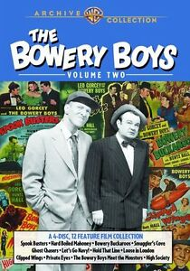 THE BOWERY BOYS: VOLUME TWO  (4 disc set)  Region Free DVD - Sealed