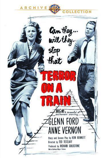 TERROR ON A TRAIN (1952 Glenn Ford) Region Free DVD - Sealed