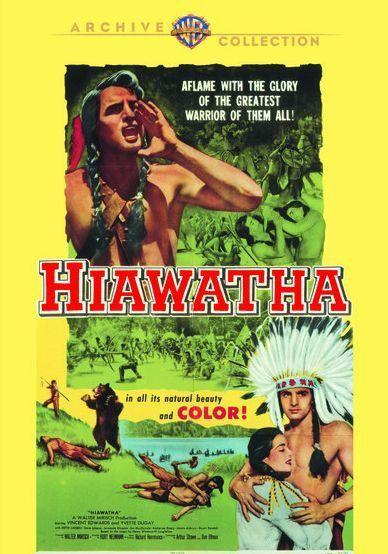 HIAWATHA - (1952 Vince Edwards) Region Free DVD - Sealed