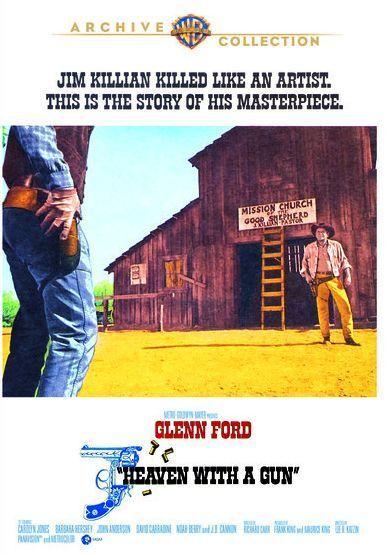 HEAVEN WITH A GUN (1969 Glenn Ford)  Region Free DVD - Sealed