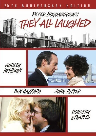 THEY ALL LAUGHED (1984 Audrey Hepburn) - Region Free DVD - Sealed