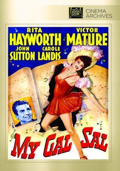 MY GAL SAL (1942 Rita Hayworth) - Region Free DVD - Sealed