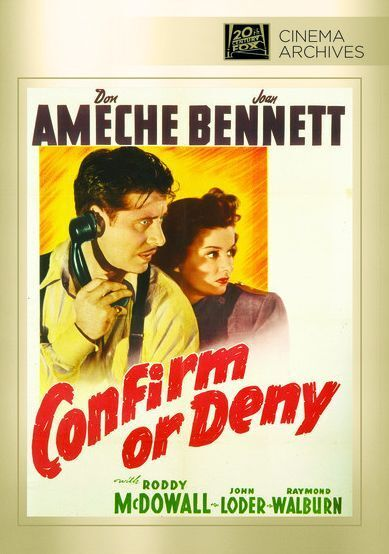 Confirm or Deny - Region Free DVD - Sealed
