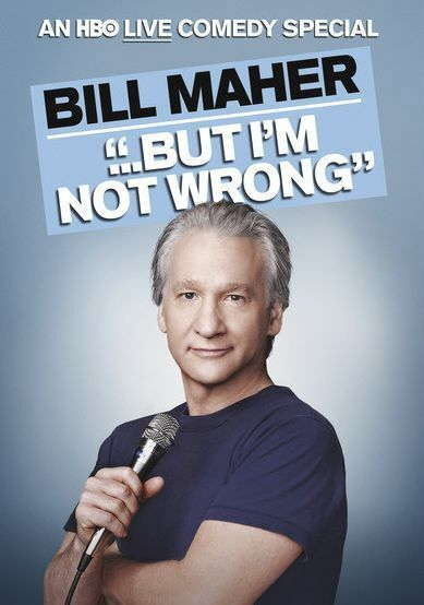Bill Maher: But I'm Not Wrong (Bill Maher) - Region Free DVD - Sealed