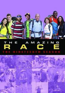 THE AMAZING RACE - Season 19 - Region Free DVD - Sealed