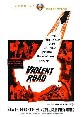 Violent Road - (1958 Brian Keith) Region Free Dvd - Sealed