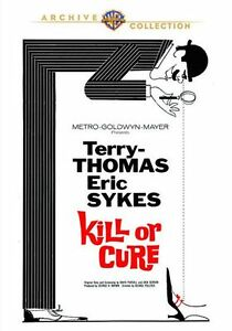 KILL OR CURE (1962 Eric Sykes, Terry Thomas)  Region Free DVD - Sealed
